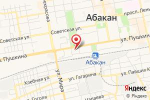 Адрес Хакасэнерго на карте