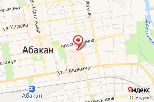 Адрес Абаканские электрические сети на карте