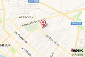 Адрес МУП Городской водоканал г. Минусинска на карте