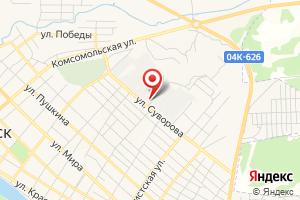 Адрес Минусинский район электрических сетей на карте