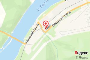 Адрес ПС № 101 Гидростроителей на карте