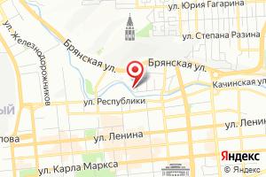 Адрес ССК на карте