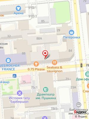 Грильница на карте