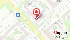Апартаменты Гранд на Алексеева 109 на карте