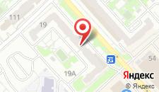 Апартаменты Гранд на Батурина 19 на карте