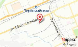 Расположение Страховое агентство Кросаго на карте