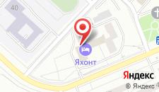 Гостиничный комплекс Яхонт Плюс на карте