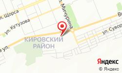 Расположение Мега-Полис на карте