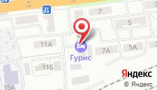 Гостиница Гурис на карте