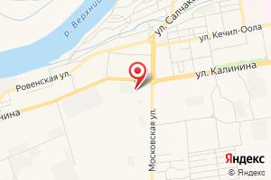 Адрес ГУП Республики Тыва УК ТЭК 4 на карте