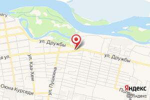 Адрес Россети Сибирь в Республике Тыва АО Тываэнерго на карте