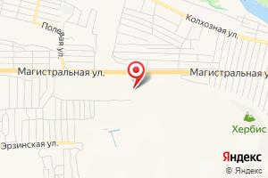 Адрес Тувгаз на карте