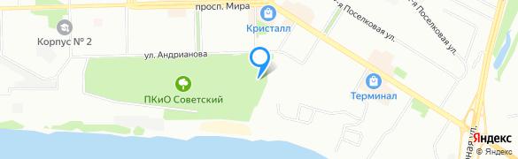 Увеличить карту