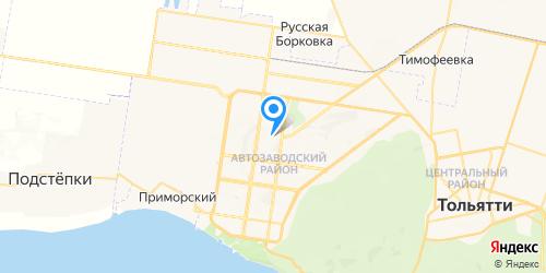 Скала Телеком на карте Тольятти