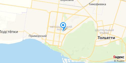 Планета Ноутбуков на карте Тольятти