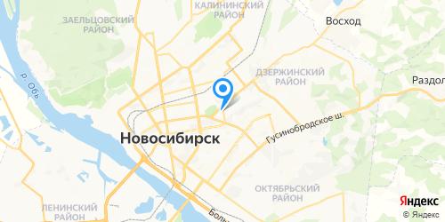 Сонико-Н на карте Новосибирска