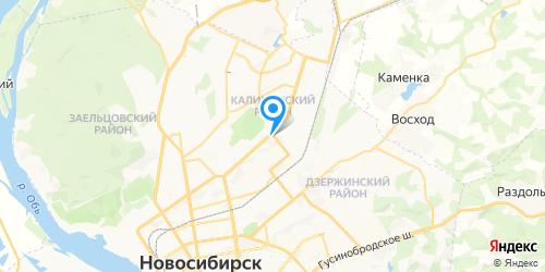 Медиа Центр на карте Новосибирска