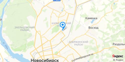 Плазма Сервис на карте Новосибирска