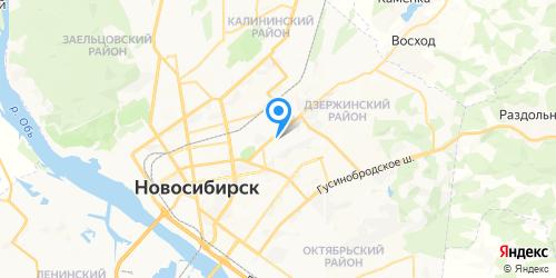 К-техника на карте Новосибирска