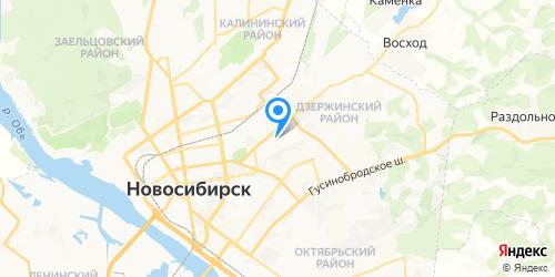 НСК - сервис на карте Новосибирска