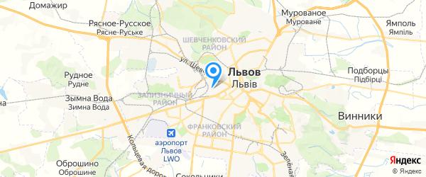 РОСимпекс на карте Львова