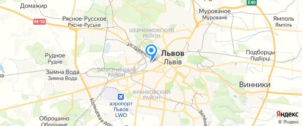 IT-Сервис на карте Львова
