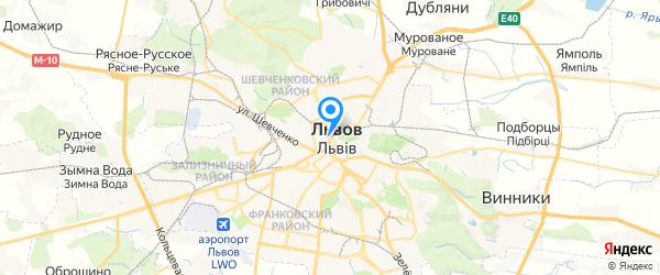 Техноэкс на карте Львова