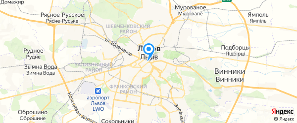 Корпорация Альянс-Сервис на карте Львова