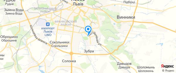 Ремонт кавоварок у Львові на карте Львова