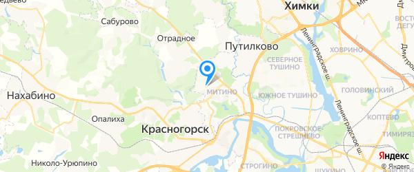 Планета АГ на карте Москвы