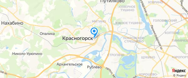 Гидроэлектросервис на карте Москвы