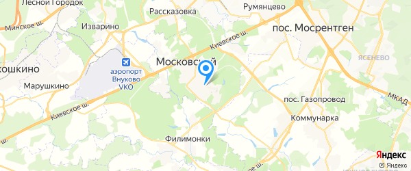 ITQU на карте Москвы