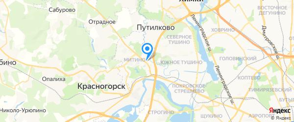 Ремонт автомагнитол, раскодирование штатных на карте Москвы