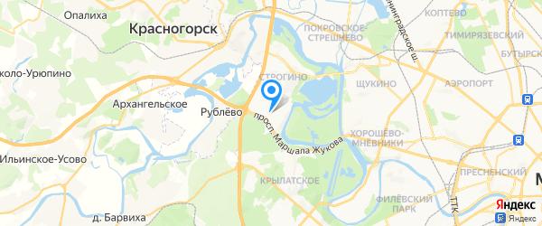 Atlas Copco сервисный центр на карте Москвы