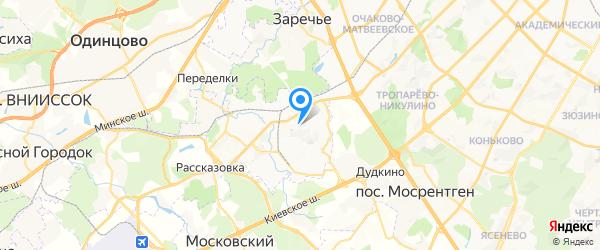 Техсервис на карте Москвы