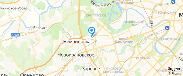 Сити сервис на карте Москвы