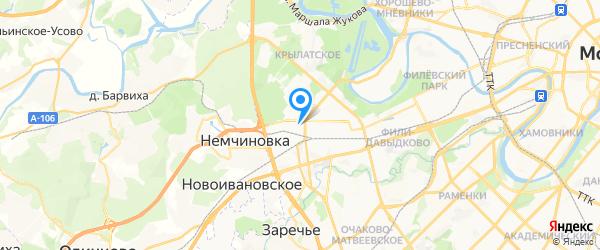 GENMOS на карте Москвы