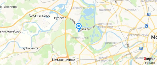 NeuHaus на карте Москвы