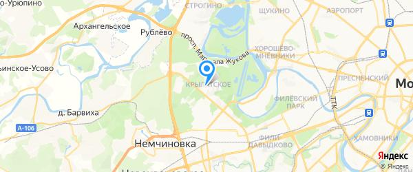 МТ Сервис на карте Москвы
