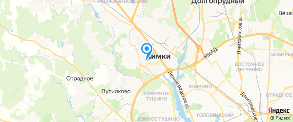 Rapid-Repair на карте Москвы