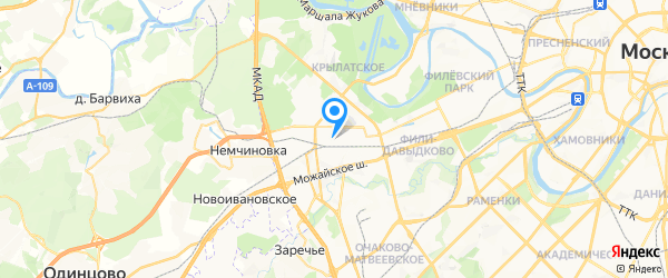 ИнтерРадиоПрибор на карте Москвы