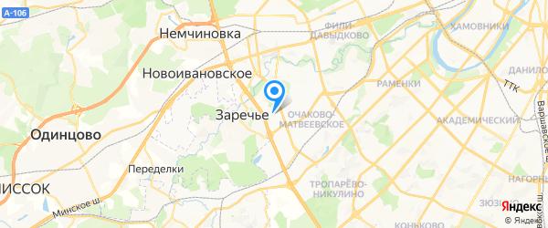 Ремстройтех на карте Москвы