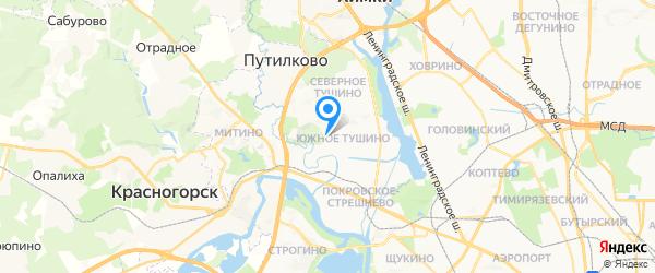 ЭлектроПлитРемонт на карте Москвы