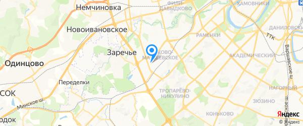 ГАРДЕН-СЕРВИС на карте Москвы
