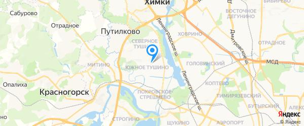 Сфера на карте Москвы