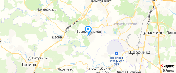 Гетек на карте Москвы
