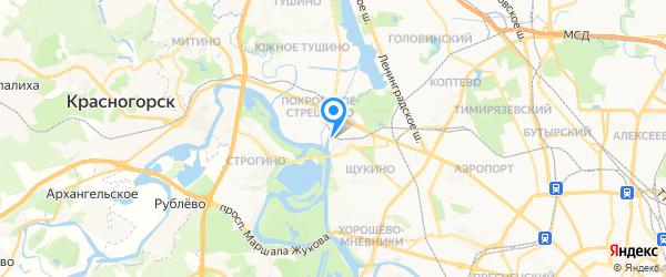 Мастеровой на карте Москвы