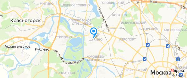 Навитекс на карте Москвы