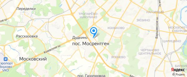 Три В на карте Москвы