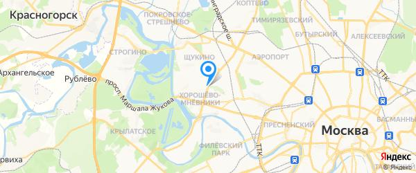 Fast Сервис на карте Москвы